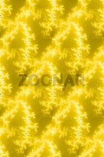 Gelbe Nahtloses Fraktal