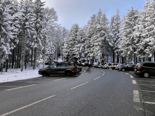 Parkplaetze am Feldberg