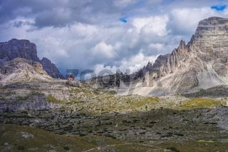 Dreizinnenhütte - Tre Cime di Lavaredo Alpine club hut