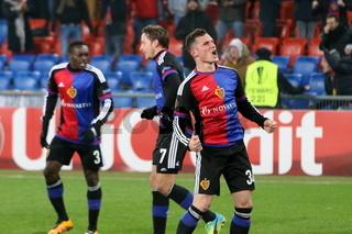 Fussball-Europa-League: 16-Finale, FC Basel vs. AS SAINT-ÉTIENNE