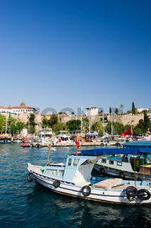 harbor in Antalya