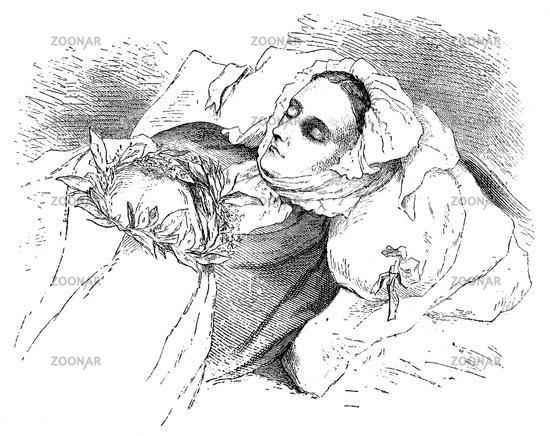 Anna Amalia von Helvig, 1776-1831, a German and Swedish artist
