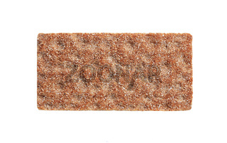 Whole grain crisp bread