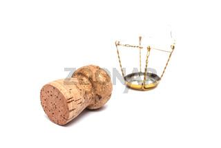 Korken vom Sekt und Champagner