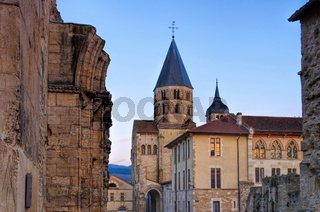 Cluny  - Cluny church in France