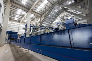 Waste plant inside process storage methane oil organic