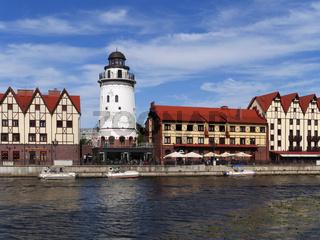 Fischerdorf in Kaliningrad, Königsberg