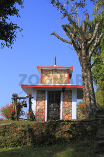 Old small stupa in Nepal