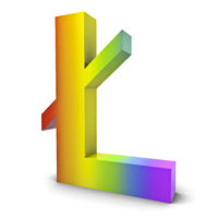 Litecoin Regenbogen