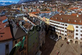 Famous golden roof - Innsbruck Austria