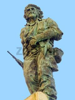 statue of Che Guevara