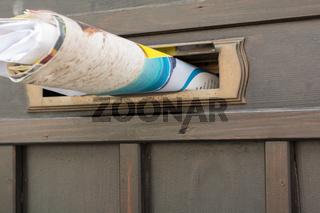 Post steckt in Postfach