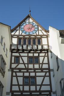 Das Untertor in der Altstadt von Stein am Rhein