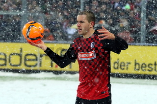 Fussball: 2.BL. - 15/16 - SC Freiburg vs. RB Leipzig