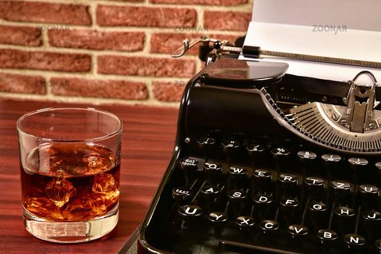 whisky und schreibmaschine