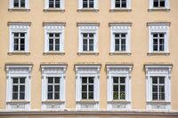 Fassadenansicht in  Salzburg