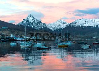 Port of Ushuaia, Tierra del Fuego, Patagonia, Argentina