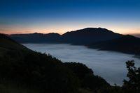 Fog over Piano Grande, Castelluccio, Umbria, Italy