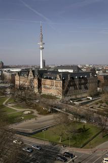 Strafjustitzgebäude in Hamburg