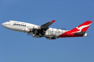 Qantas Boeing 747-400 Flugzeug