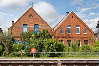 Häuser am Roten Siel
