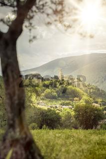 San Severino in Italy Marche