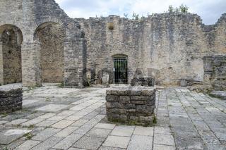 Dvigrad, medieval town in central Istria, Croatia.