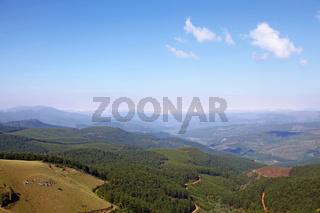Landschaft am berühmten Long Tom Pass, Mpumalanga, Südafrika, landscape at famous Long Tom Pass, South Africa