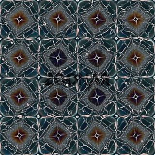 Muster eines Bodens aus marmorierten steinernen Platten