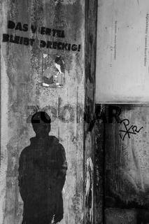 Graffity am Bahnhof Altona