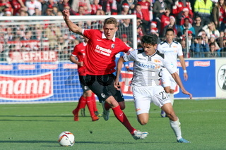 Fussball: 2.BL. - 15/16 - SC Freiburg vs. Union Berlin