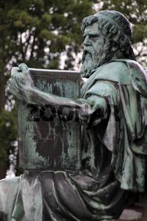 Denkmal Großherzog Franz Friedrich II im Schlossgarten Schwerin