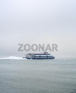 Lisbon to Almada ferry boat