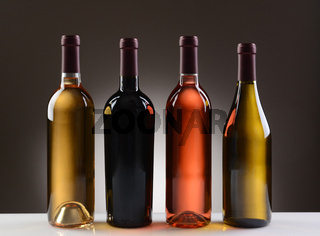 Wine Bottles With No Labels