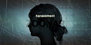Woman Facing Harassment