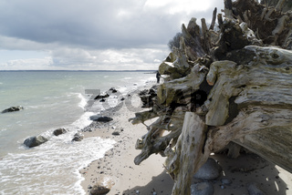 breaking cliffs