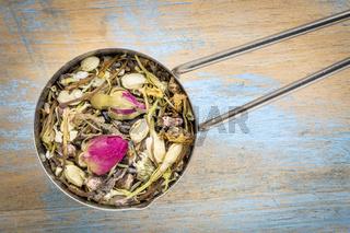 Healthy skin  herbal tea