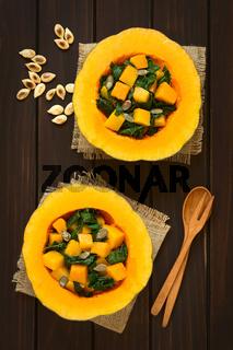 Pumpkin and Chard Salad