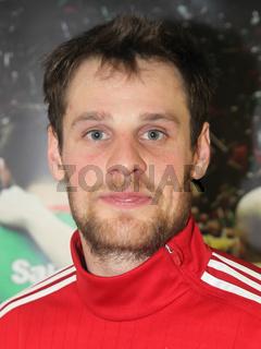 Jens Bechtloff (TUS N-Lübecke) zum DKB Handball-Bundesligapunktspiel SC Magdeburg gegen TuS N-Lübbecke