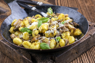 Gnocchi with Mushroom
