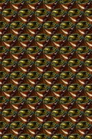 Braunglas Abstrakte Fraktal