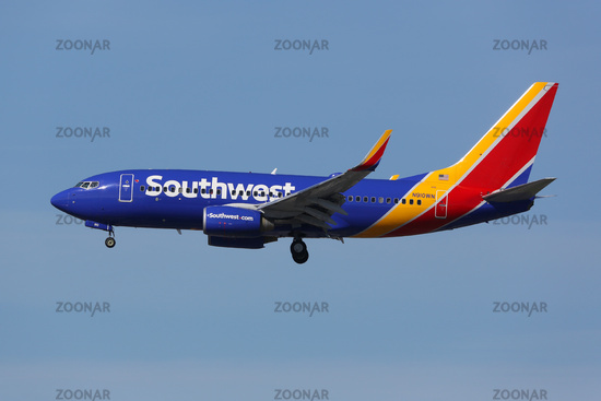 Southwest Airlines Boeing 737-700 Flugzeug