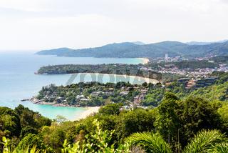 Hat Kata Karon Viewpoint in Phuket island