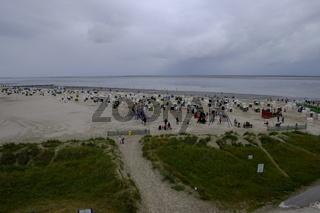 Strand bei Norddeich, Nationalpark Niedersächsisches Wattenmeer, Ostfriesland, Niedersachsen, Deutschland