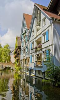 An der Blau im Fischerviertel Ulm