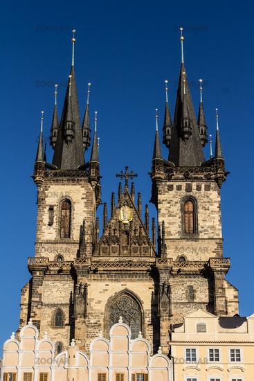 Prager Teynkirche am Altstädter Ring