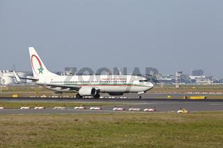 Flughafen Frankfurt am Main - Boeing 737 von Royal Air Maroc startet