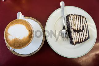 Typischer Kuchen aus den Sechzigern