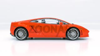 Modern supercar