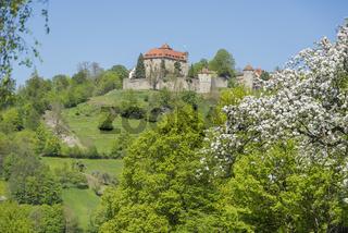 Stetten castle in Hohenlohe
